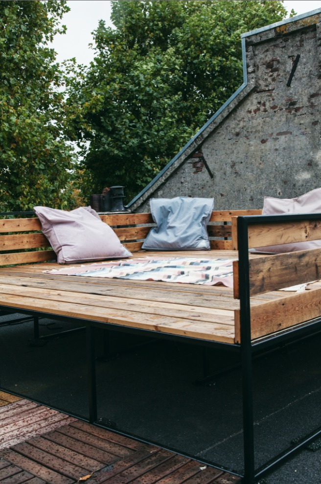 Daybed 3 x 3 meter