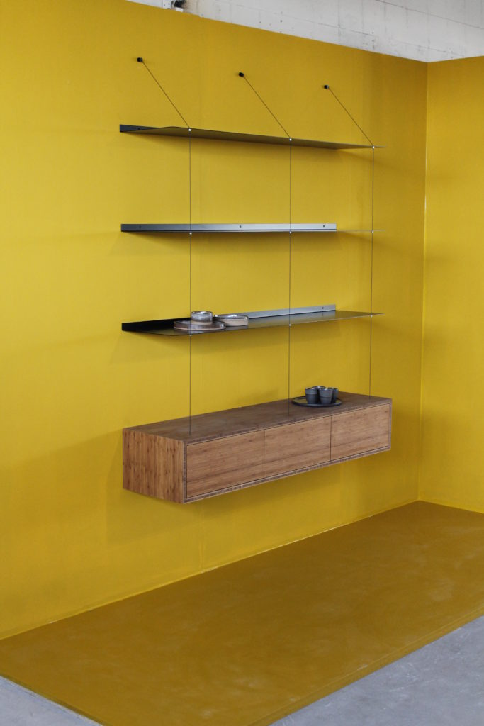 we can make the storage cabinet in all sizes and kinds of wood, doors and drawers are both an option. price on request