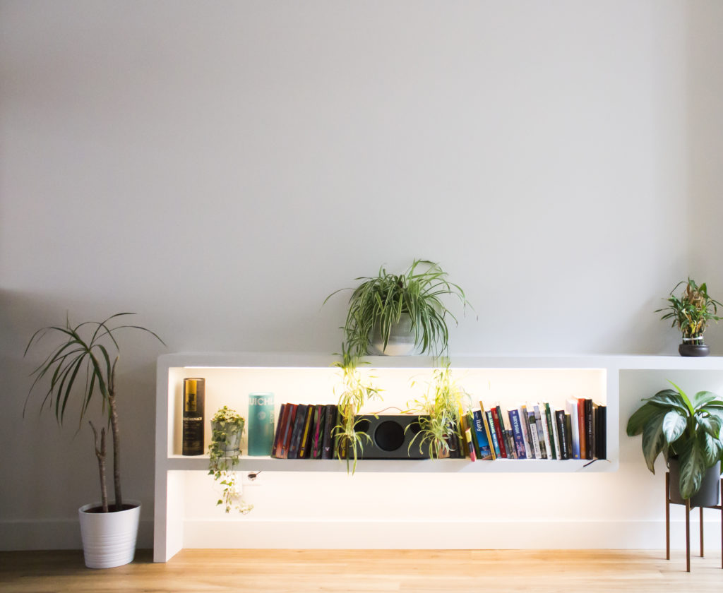 dresser with integrated lighting